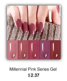 Millennial Pink Gel Polish