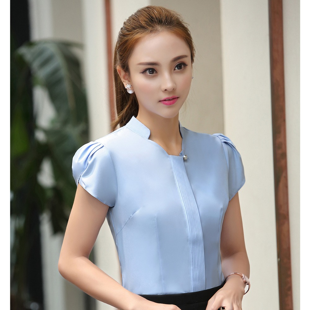 Online Buy Wholesale women formal shirts designs from ...