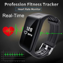 wearpai real time FitnessTracker font b Watch b font IP68 Waterproof Wireless Smart Bracelet with Continuous
