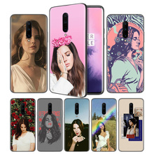 Lana Del Rey Soft Black Silicone Case Cover for OnePlus 6 6T 7 Pro 5G Ultra-thin TPU Phone Back Protective