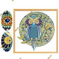Special Shaped Diamond Painting Living Room Decoration Diamond Embroidery Mosaic Rhinestone icon 5d Owl Cross Stitch Diy Sticker