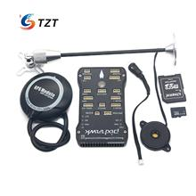 TZTPIX Pixhawk Fligtht Controller 32Bit + M8N GPA +SD 4G Card + GPS Bracket for FPV Quadopter Drone