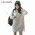 Branco vestido de maternidade vestidos outono inverno para as mulheres grávidas de três - dimensional ponto onda roupa de maternidade gravidez roupas