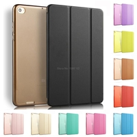 Reg Free Shipping For Xiaomi Mipad 2 Case Smart Wake Up Sleep Stand Flip Cover For