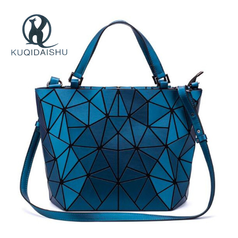 Fashion Top-Handle Bags Bao Women Bag Hologram Geometric Fold Over Bag Luxury Brand Designer Sac A Main Bags Bolsa Feminina
