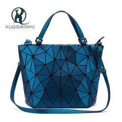 Sacos de moda de alta qualidade sacos de moda feminina saco de holograma geométrico dobre saco de designer de marca de luxo sac a principal bolsas bolsa feminina
