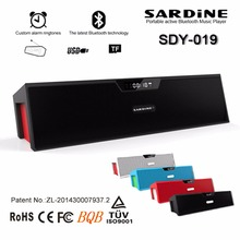SARDiNE SDY-019 Portable Wireless Bluetooth Speakers with Alarm Clock LCD Time Display big power 10W output HIFI Support