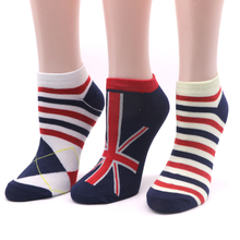 3Pair Striped Invisible Socks Short Men's Boat Socks Chaussette Male Low Cut Ankle Sock Dress Compression Sock Calcetines Hombre