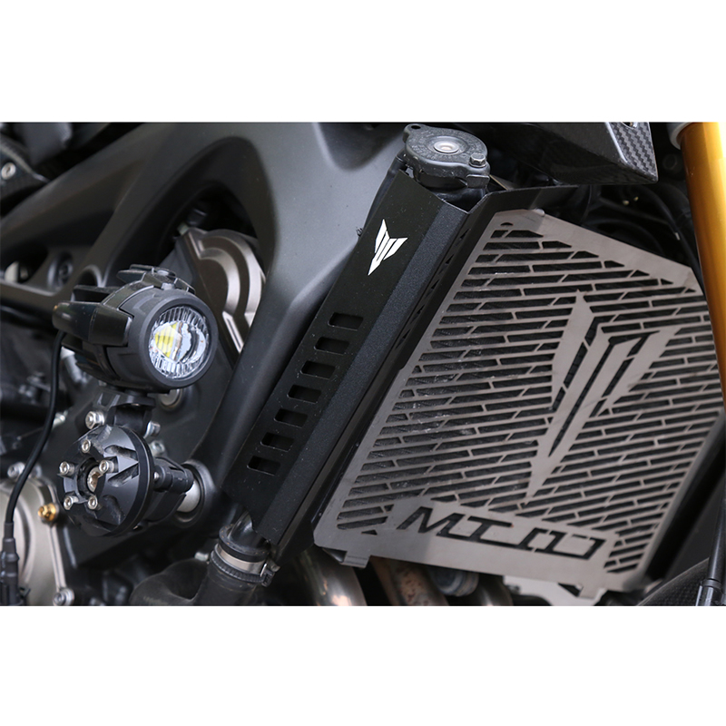 For YAMAHA Motorcycle CNC Aluminum MT-07 modified Tank Cover Radiator Cover epman 42mm 2 row aluminum radiator for nissan skyline r33 r34 gtr gtst rb25det mt ep r106rad