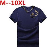 PLUS Size 10XL 9XL 8XL 7X 6XL 5XL 2017 Summer Fashion Digging Design T Shirt Men
