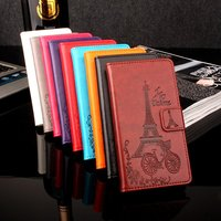Brand HongBaiwei Vernee Thor Case With Card Holder New Flip Leather Exclusive Protective Cover Case For