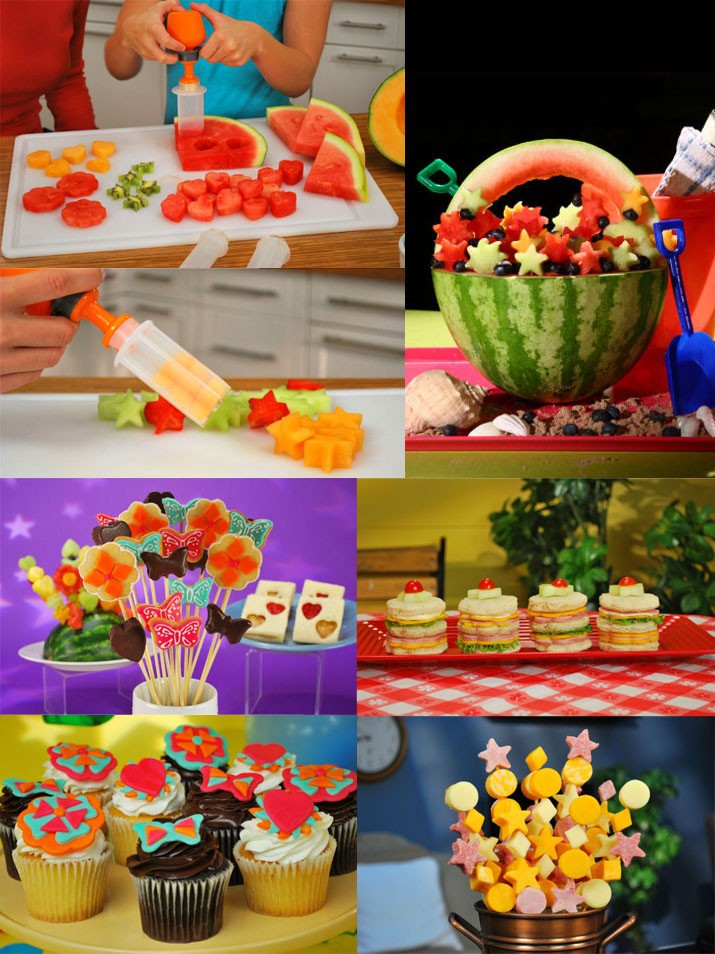 Creative Kitchen Accessories Cooking Tools Plastic Fruit Shape Cutter Slicer Veggie Food Decorator Fruit Cutter 3