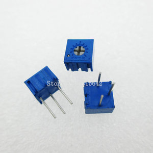 20PCS/LOT 3362P-504 3362P 500K ohm Multiturn Trimmer Potentiometer High Precision 3362 Variable Resistor 3362-P504