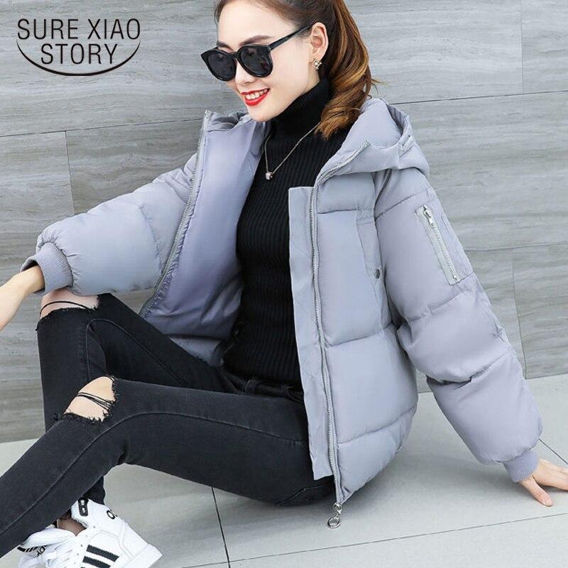 Fashion women Winter Coat 2018 Long Sleeve Women Cotton