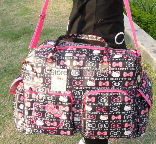 dde3b0bb9cb hello kitty diaper bag nappy changing baby bags bolsa maternidade bolsa  bebe carters wet for mummy travel mom colorland babies-in Diaper Bags from  Mother ...