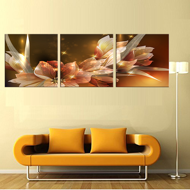 Famous 3 Panel Wall Art Festooning - Wall Art Collections ...