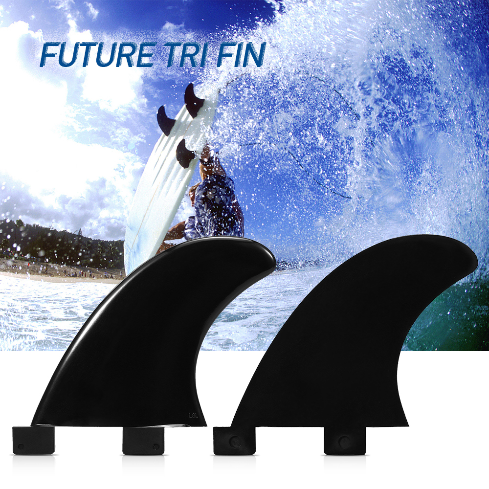 Gl/Gx/M5/G5 Surf Water Wave Fin Sup Accessory Surfboard Fin Thrusters Tir Fins Stand Up Paddle Board Nylon Surf Fins