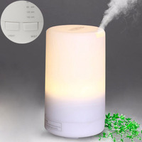 USB Essential Oil Humidifier Air Aroma Diffuser With Warm White LED Night Light