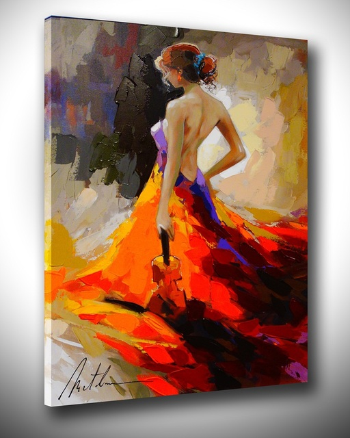 Oil on Canvas Painting Naked Woman eBay
