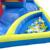 Venta caliente Parque De Atracciones de Agua Inflable Del Partido Divertido Juego Tobogán Y Piscina de Bolas de Partido de Los Niños