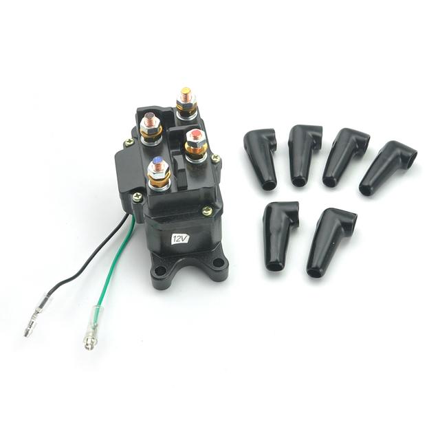 KEMiMOTO For Polaris RZR 900 RZR XP 1000 ACE 570 ATV UTV Winch Solenoid Contactor For Ramsey Warn Superwinch Champion Winch