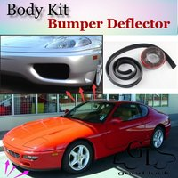 Bumper Lip Deflector Lips For Ferrari 456 GT Front Spoiler Skirt For TG Friends to Car View Tuning / Body Kit / Strip
