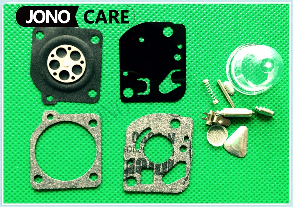 ZAMA RB-47 Carburetor Carb Repair Rebuild Kit Poulan Craftsman WeedEater Blower Trimmer Spare parts DR125 2016 new carburetor carb rebuild repair kit k10 wyb for srm 260 srm 261 trimmer replacement k20 wyj type