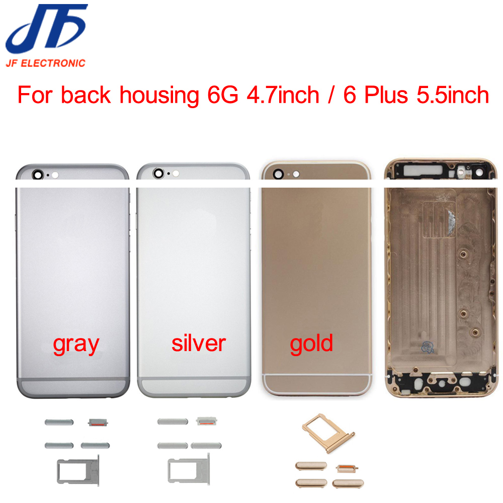 10pcs New Back Housing Replacement for iPhone 6 6G Plus Battery Cover Housing Case Middle Chassis