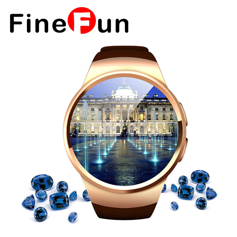Original KINGWEAR KW18 Smart Watch Bluetooth Heart Rate Monitor Intelligent smartWatch Support SIM TF Card for IOS Android Phone парктроник parkmaster 4 dj 92 камера заднего вида