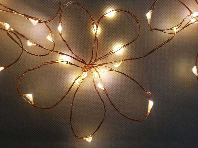 100 240vac 12vdc Copper Wire Mini String Fairy Lights 20ft 6m 120 Led Eu Plug