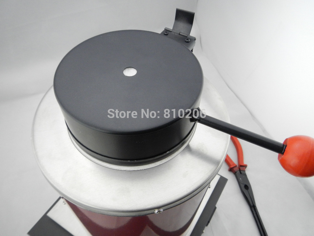 220 Voltage and 2KG Capacity Gold Electric Melting Furnaces with 1pc Graphite Crucible & Plier,Smelting furnace