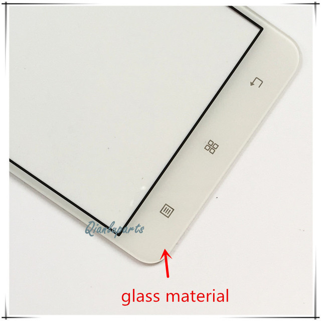 5inch Replace High quality mobile phone touch panel sensor For Lenovo A5000 touch screen digitizer front glass lens touchscreen