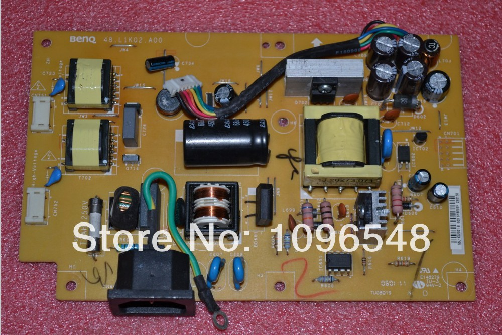 Free Shipping>Q5T4 power board power board  FP51G FP51G pressure plate 48.L1K02.A00-Original 100% Tested Working free shipping en vis ion yimeixun g2220w original power board pressure plate 715g2892 5 4 6 4 original 100% tested working