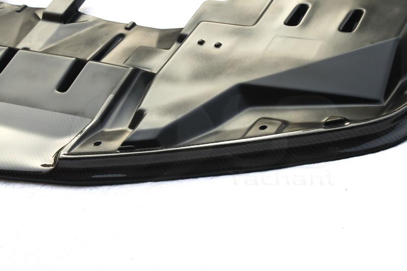 1999-2002 Nissan Skyline R34 GTR OEMフロントバンパーニスモスタイルボトムリップ、アンダートレイCF(4)