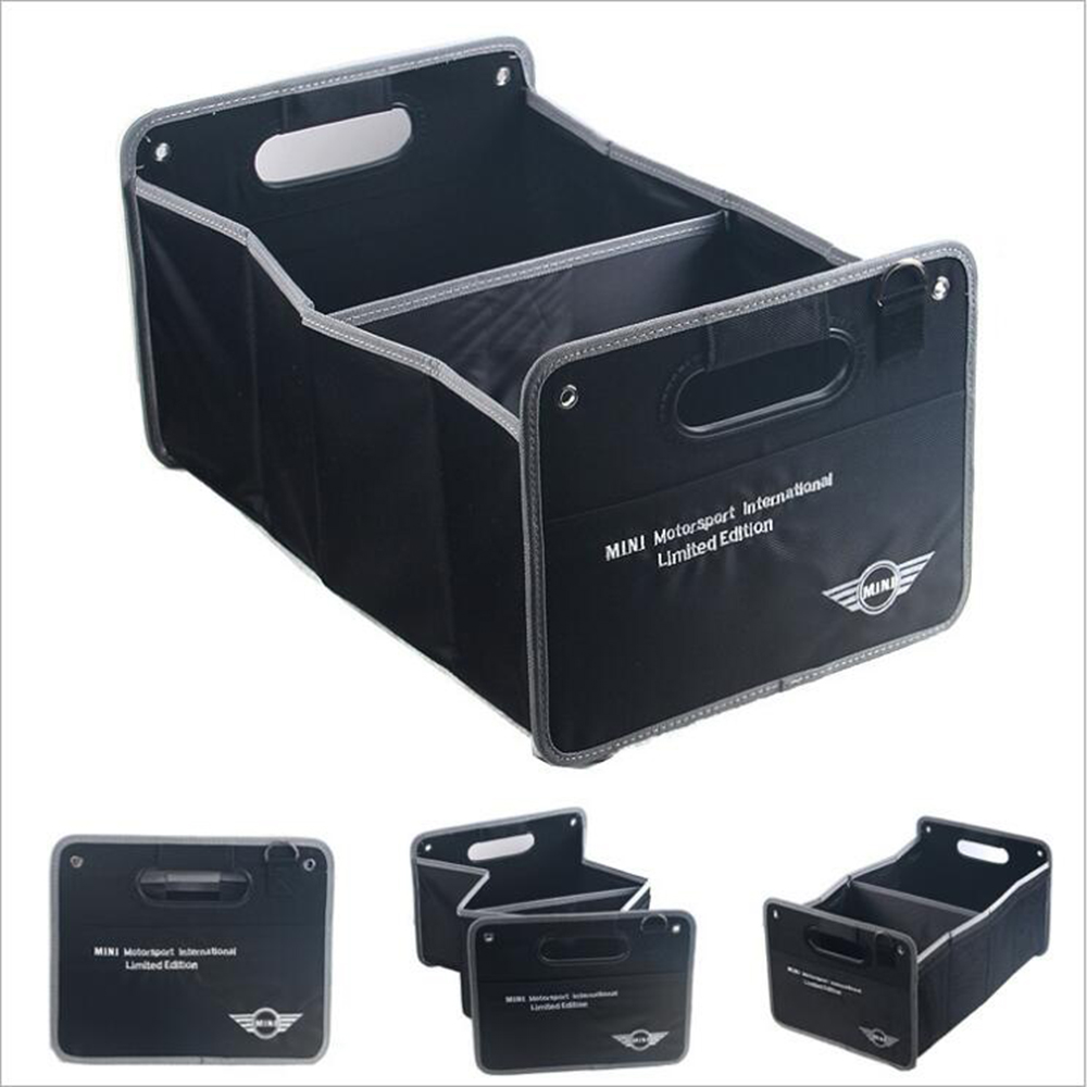 Car Styling Trunk Foldable Large Capacity Vehicle Storage Box For MINI Cooper R50 R52 R53 R55 R56 R57 R58 R59 R60 R61 R62 canbus t10 w5w led clearance parking lights for mini cooper f54 f55 f56 r50 r52 r53 r55 r56 r57 r58 white red yellow crystal blu