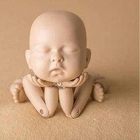 Реквизит для фотографии новорожденных детские Имитация человеческого моделирования совместное Кукла Фильм студия съемки реквизит