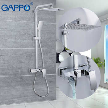 GAPPO Bathtub faucets massage showers for bathroom wall mounted shower heads chrome polished waterfall rainfall bath mixer - DISCOUNT ITEM  51% OFF All Category