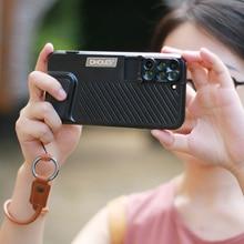 Ulanzi PHOLES 6-in-1 Dual Optics Phone Camera Lens System foriPhone 8 plus /7 Plus, Fisheye/Telephoto/Wide-angle/Macro lens