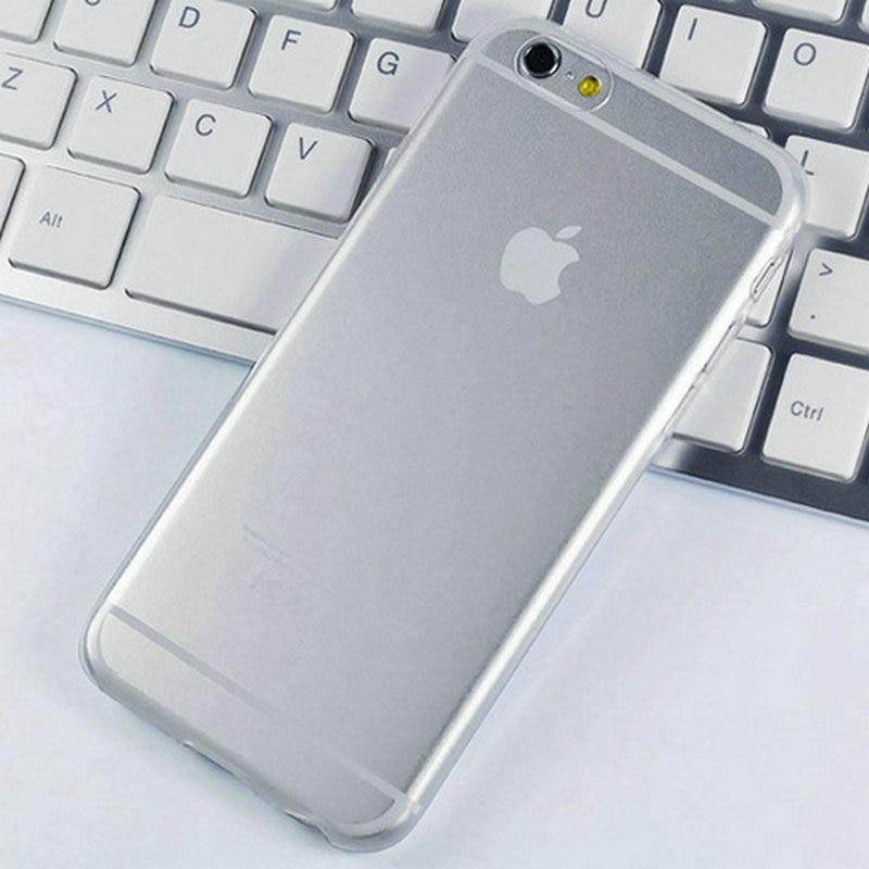 Capinha 6S i6 Ultra Soft Coque Silicone Case For iPhone 6 6S Slim TPU Transparent Phone Cover For i Phone 6 6 S Case Fundas Capa