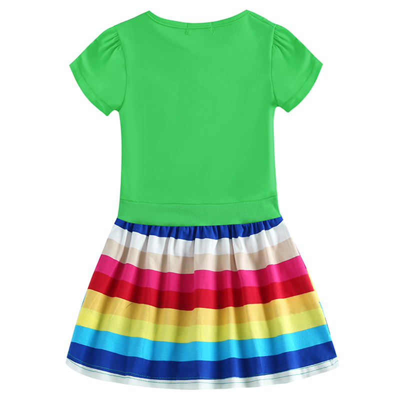 New Little Pony Wear, Christmas, Rainbow Costume, Everyday Dress Baby Girl