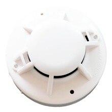 2 шт./лот CJ-H105 пожарной сигнализации и безопасности 2-проводной MCU обычный тепловой детектор с базой, пожарная сигнализация