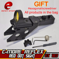 EX 183 Element Airsoft SEEMORE REFLAX SIGHT FOR HI CAPA Red Dot Sight