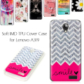 For Lenovo A319 TPU Case Soft IMD TPU Cover For Lenovo A 319 - 4.5 inch