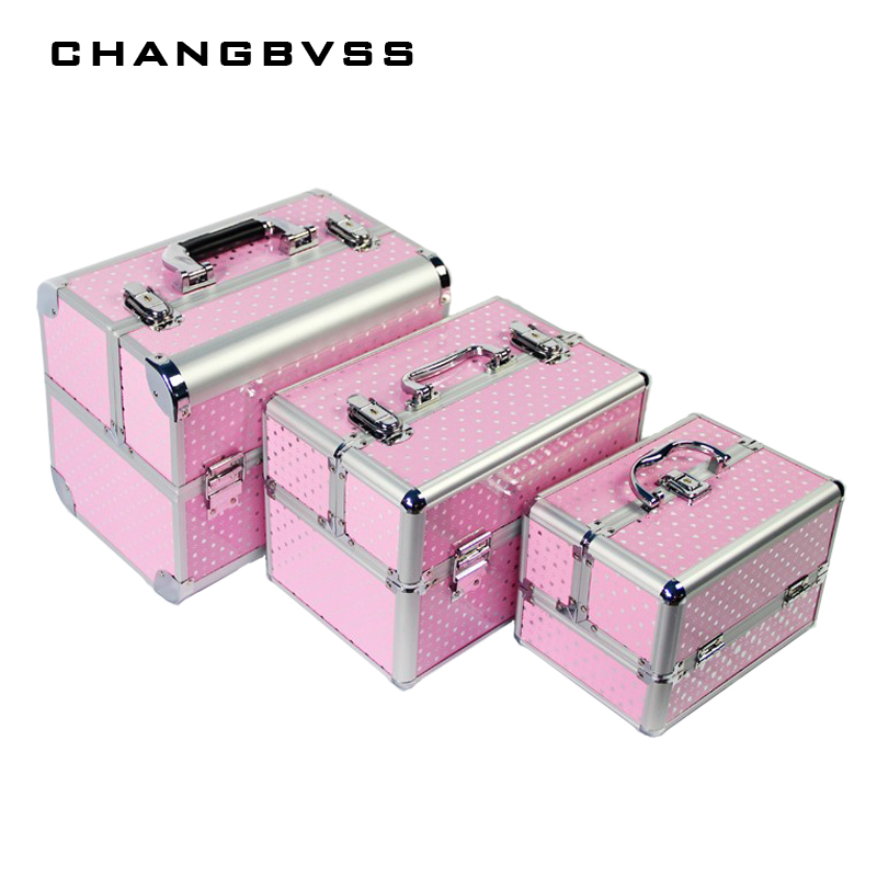 Professional Cosmetic Case Women Wedding Gift Box Beauty Makeup Travel Train Cases Luxury Make Up Jewelry Bag Storage CaseProfessional Cosmetic Case Women Wedding Gift Box Beauty Makeup Travel Train Cases Luxury Make Up Jewelry Bag Storage Case
