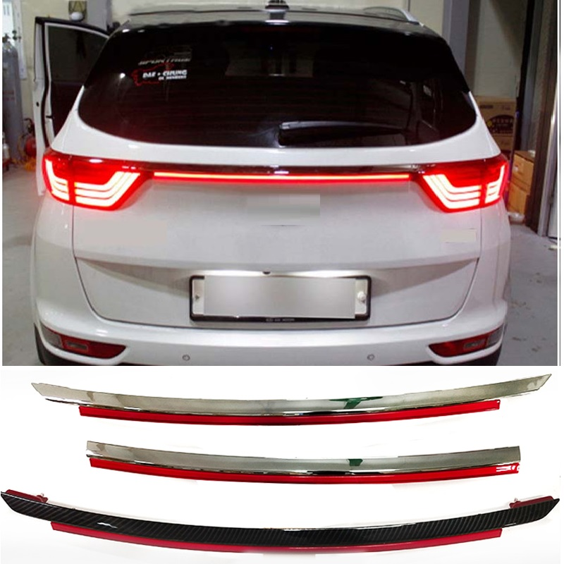 citycarauto car styling tail lamp LED REAR braket lights warning lights fit for <font><b>kia</b></font> kx5 sportage car 2015-2018 image
