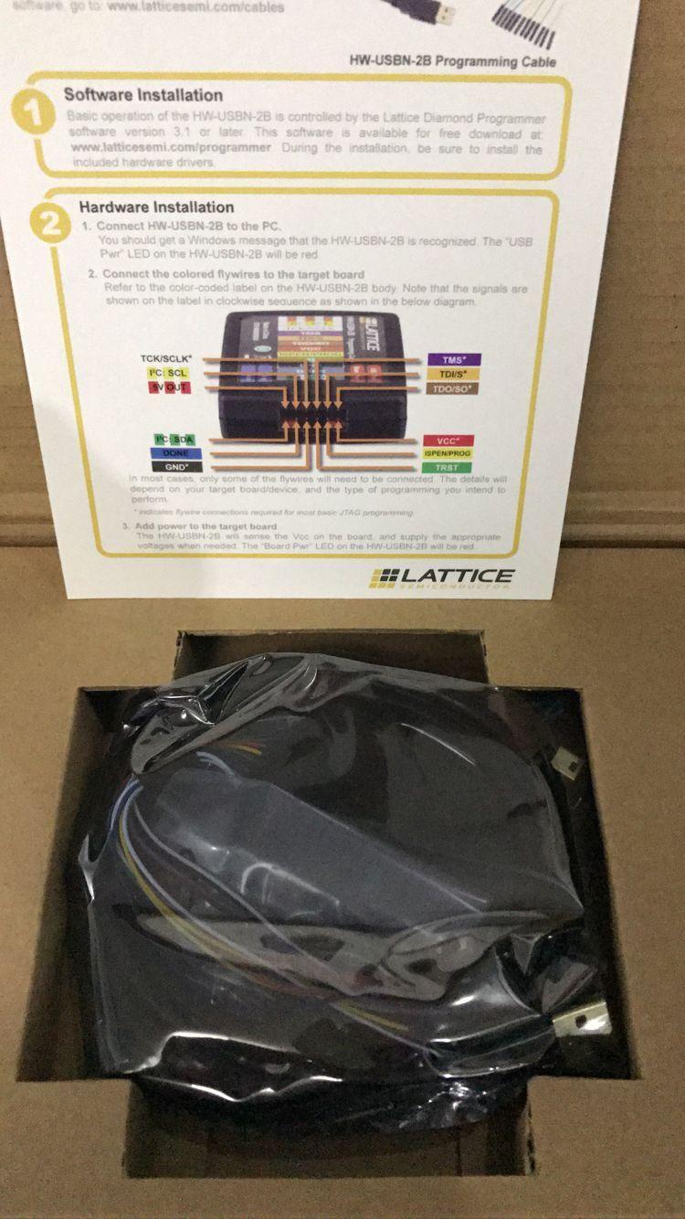 Lattice Programmer HW-USBN-2B Programming Cable USB Download Cable Simulator
