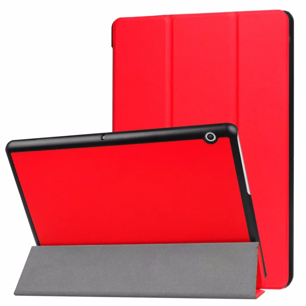 Magnet stand cover case For Huawei MediaPad T3 10 AGS-L09 AGS-L03 9.6 inch Tablet PU leather cover protective case +Film +Pen цена 2017