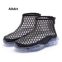 AAdct chicas de verano de zapatos de nueva moda de malla de cómodos casuales de los niños zapatos de marca zapatos de estudiante poco zapatos de niños para niñas princesa