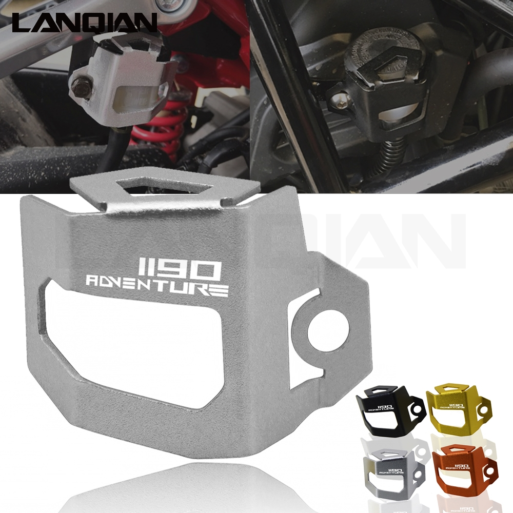 For KTM 1190 Adventure Motorcycle Accessories Rear Brake Oil Cup Cover Clutch Fluid Reservoir Guard Protector For KTM 1190 ADV
