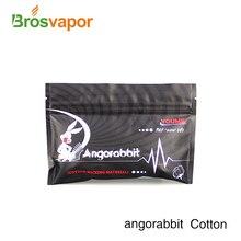 Низкая цена Angorabbit хлопок органический e cig хлопок волокно для RDA RBA RTA RDTA Dripka танк e cig DIY капиллярный распылитель хлопок